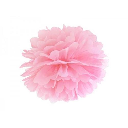 პომპონი ვარდისფერი 35სმ