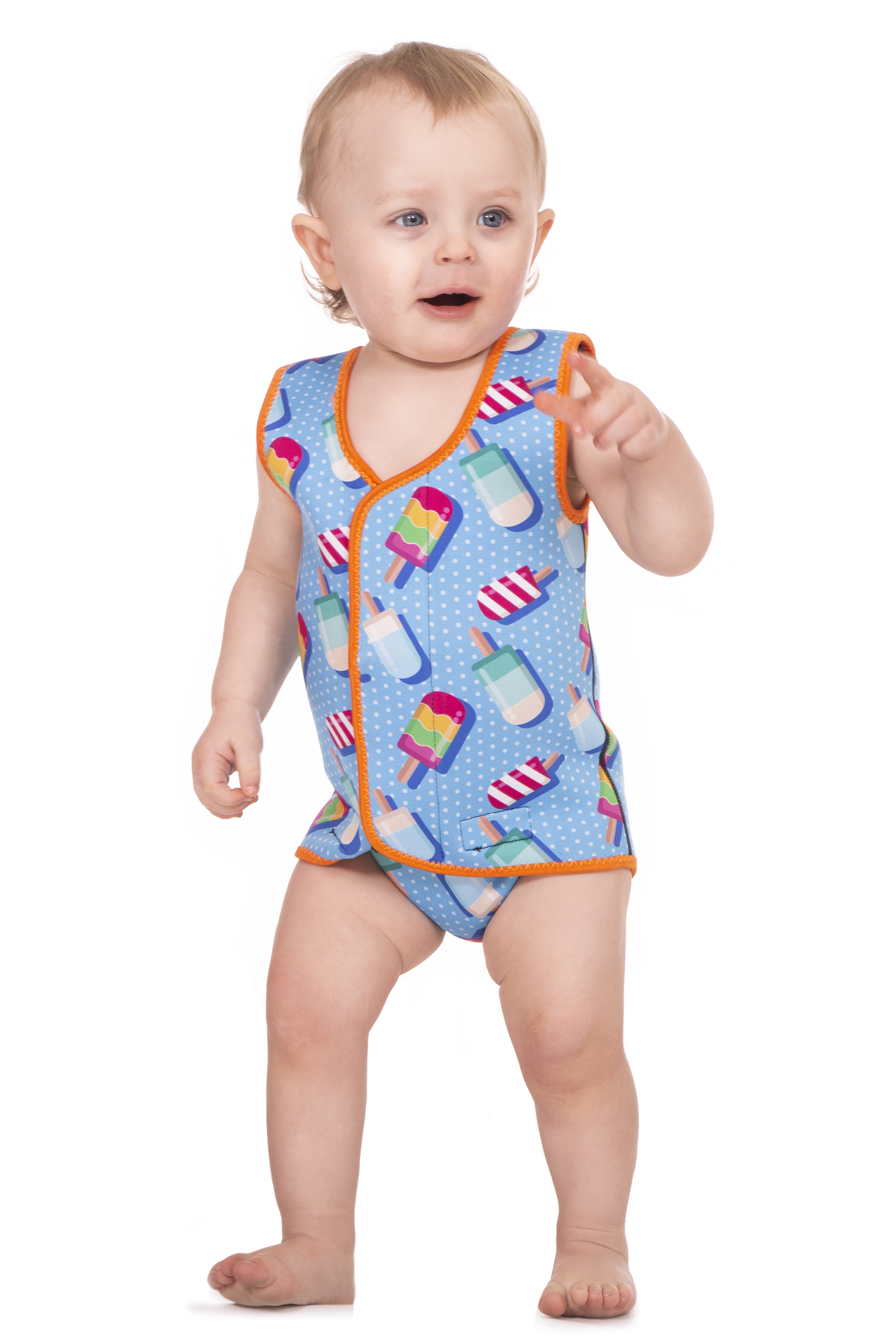 Babatastic Baby Full Body Neoprene All in One Boys and Girls Wetsuit Swimwear for Babies Toddlers and Children