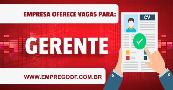 EMPREGO PARA GERENTE DE INVESTIMENTO