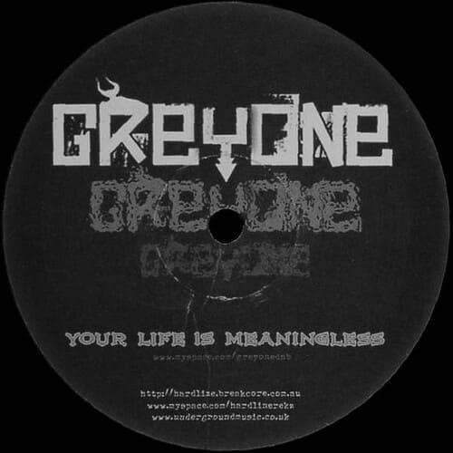 Download Greyone / DJ G-I-S - Your Life Is Meaningless / Juggernaut mp3