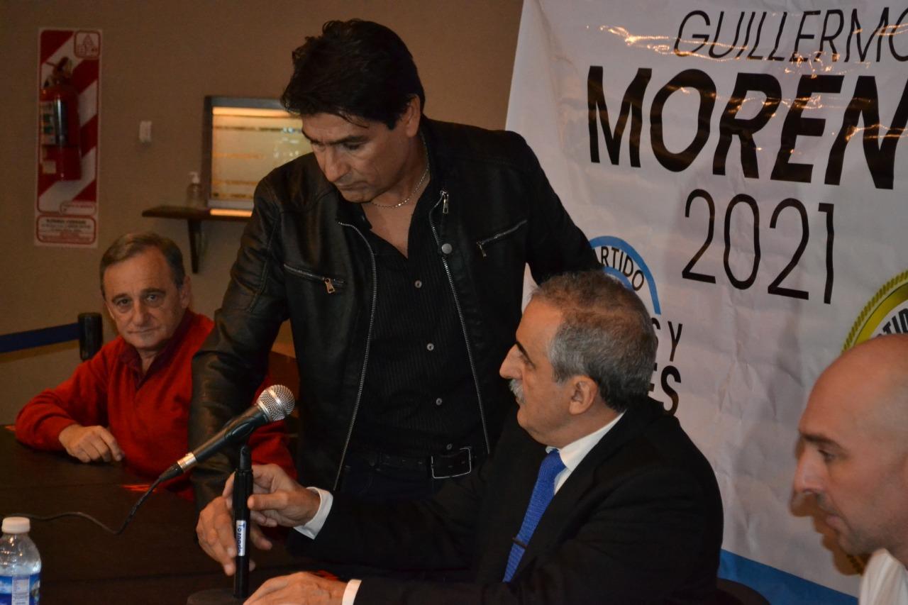 """Guillermo Moreno en Pigüé; """"No queremos saber nada con el social demócrata Alberto Fernández y con el (vago) de Macri""""."""