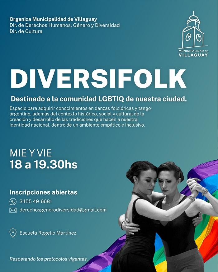 "Inscripción abierta al taller ""DiversiFolk"""