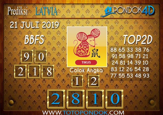 Prediksi Togel LATVIA POOLS PONDOK4D 21 JULI 2019