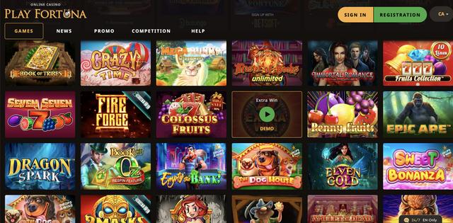 Play Fortuna Casino gry