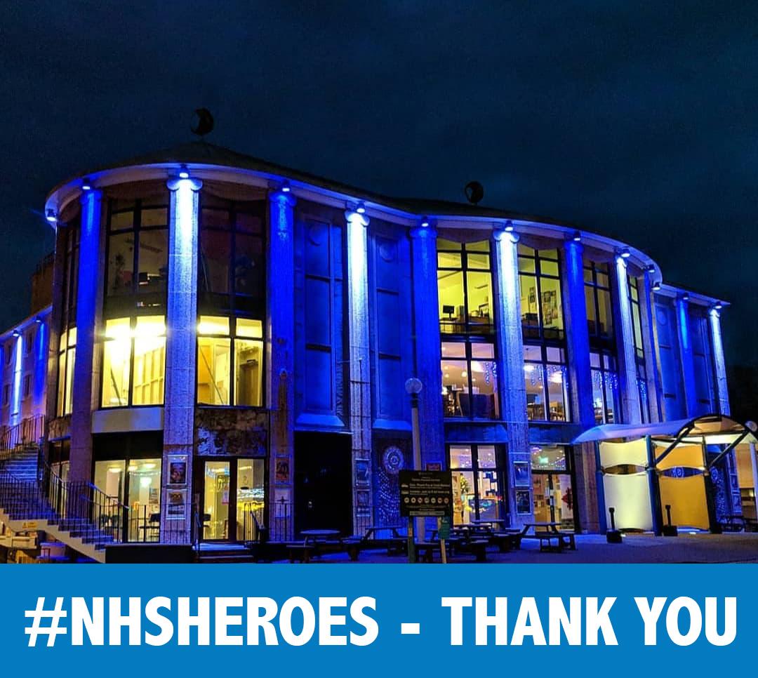 Blue for NHS
