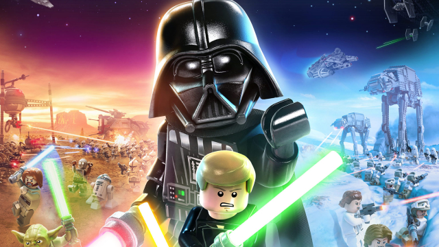 LEGO STAR WARS: THE SKYWALKER SAGA: Here's The Highly Anticipated Video Game's Official Box Art