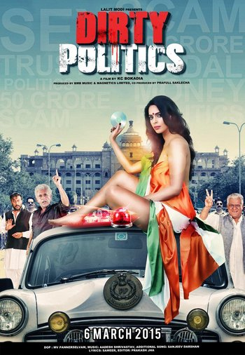 Dirty Politics (2015) Hindi Movie 720p HDRip 1.1GB Download