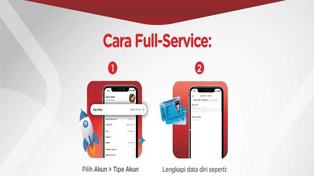 Cara Mengupgrade Linkaja Ke Full Service Paling Mudah Dan Terbaru!