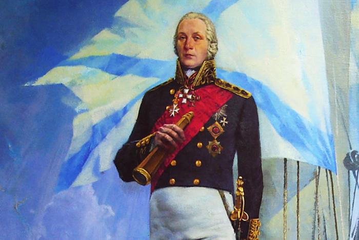 Admiral Fedor Ushakov.