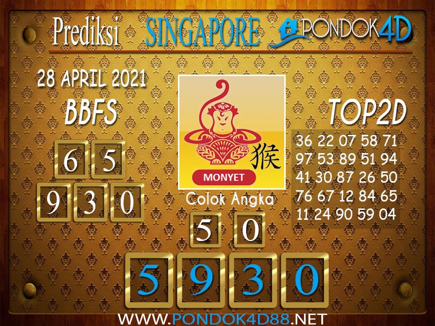 Prediksi Togel SINGAPORE PONDOK4D 28 APRIL 2021