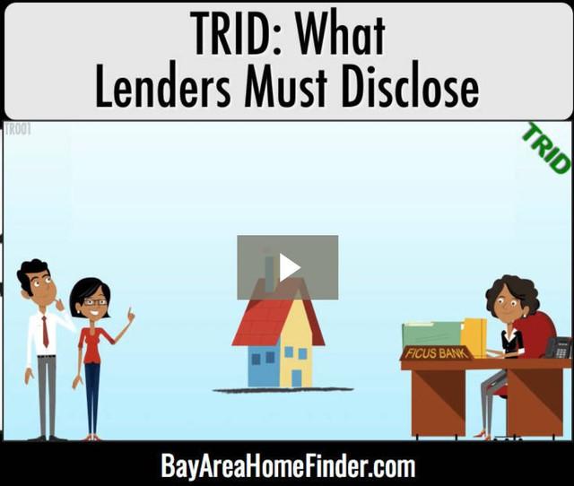Lender-disclosures