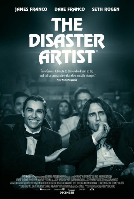 Смотреть Горе-творец / The Disaster Artist Онлайн бесплатно - История о создании фильма «Комната» (2003), широко известного как эталон бездарного кино....