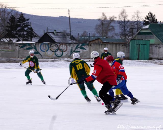 «Году спорта» в Шилкинском районе дал старт традиционный хоккейный турнир