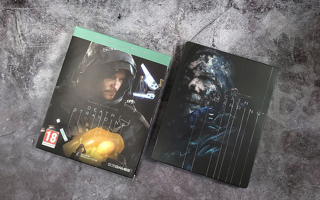 PC《死亡擱淺》中文鐵盒實體版正式發售,精裝鐵盒開箱展示 06