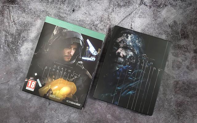 DEATH_STRANDING - PC《死亡擱淺》中文鐵盒實體版正式發售,精裝鐵盒開箱展示 06