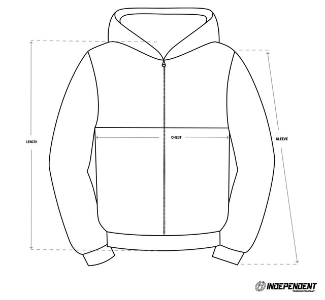Size-Chart-Windbreaker-Independent-Trading-Co