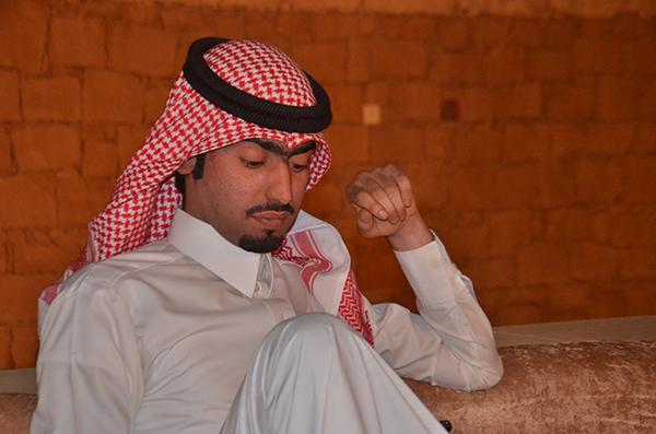 الشريف / عبدالله بن سويلم العضيدان رزق بمولود