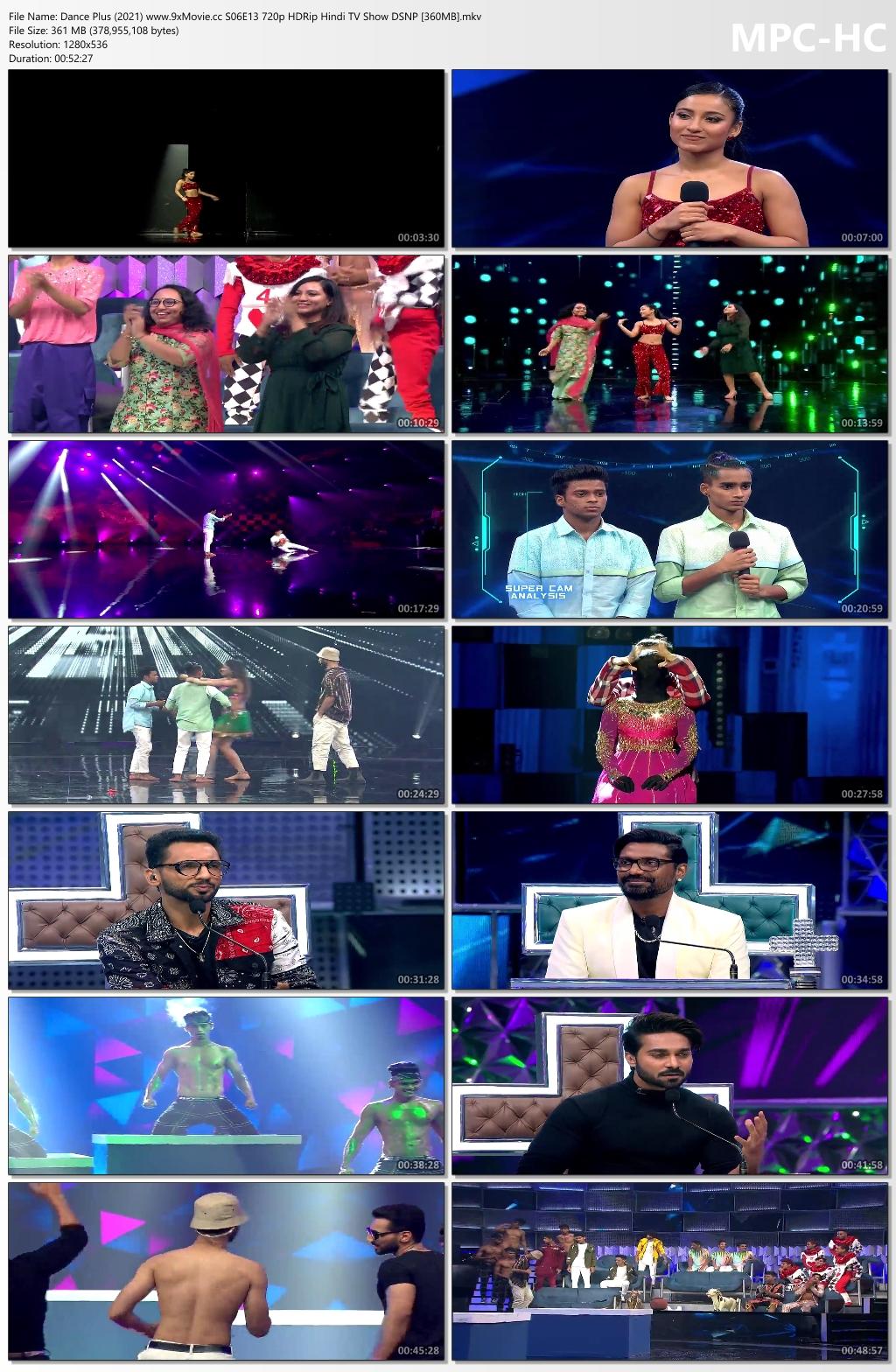 Dance-Plus-2021-www-9x-Movie-cc-S06-E13-720p-HDRip-Hindi-TV-Show-DSNP-360-MB-mkv