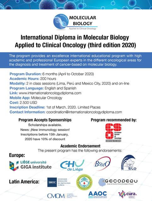 Molecular Biology 2020