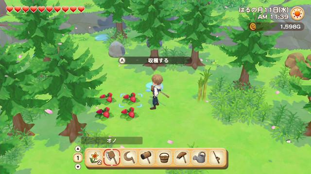 「牧場物語」系列首次在Nintendo Switch™平台推出全新製作的作品! 『牧場物語 橄欖鎮與希望的大地』 決定於2021年2月25日(四)發售! 009