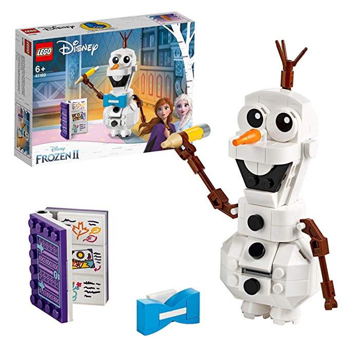 Olaff, Frozen 2, Lego