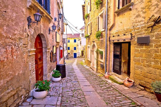 Croatia istria street 5c1f81c456f39