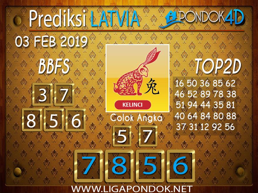 Prediksi Togel LATVIA PONDOK4D 03 FEBRUARI 2019