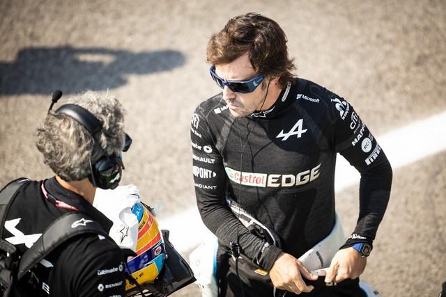 Alpine poursuit sa série d'entrées dans les points avec un double top dix à Monza Grand-Prix-d-Italie-2021-Alpine-A521-N14-Fernando-ALONSO-5
