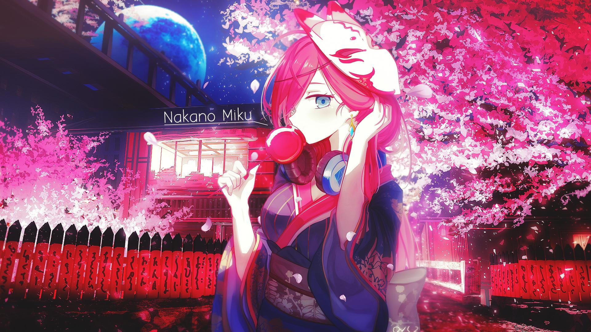 Nakano Miku - Gotoubun no Hanayome Wallpaper - Korigengi ...