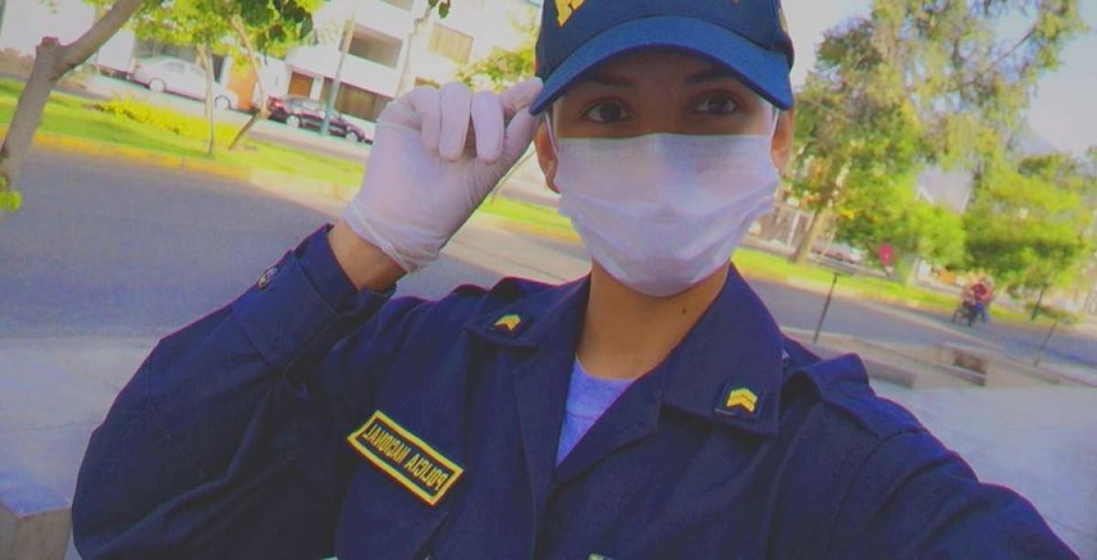 Larizza Farfán, la reina de belleza que está en primera línea de lucha contra coronavirus Lg-5e98aafb99873956c2388f15