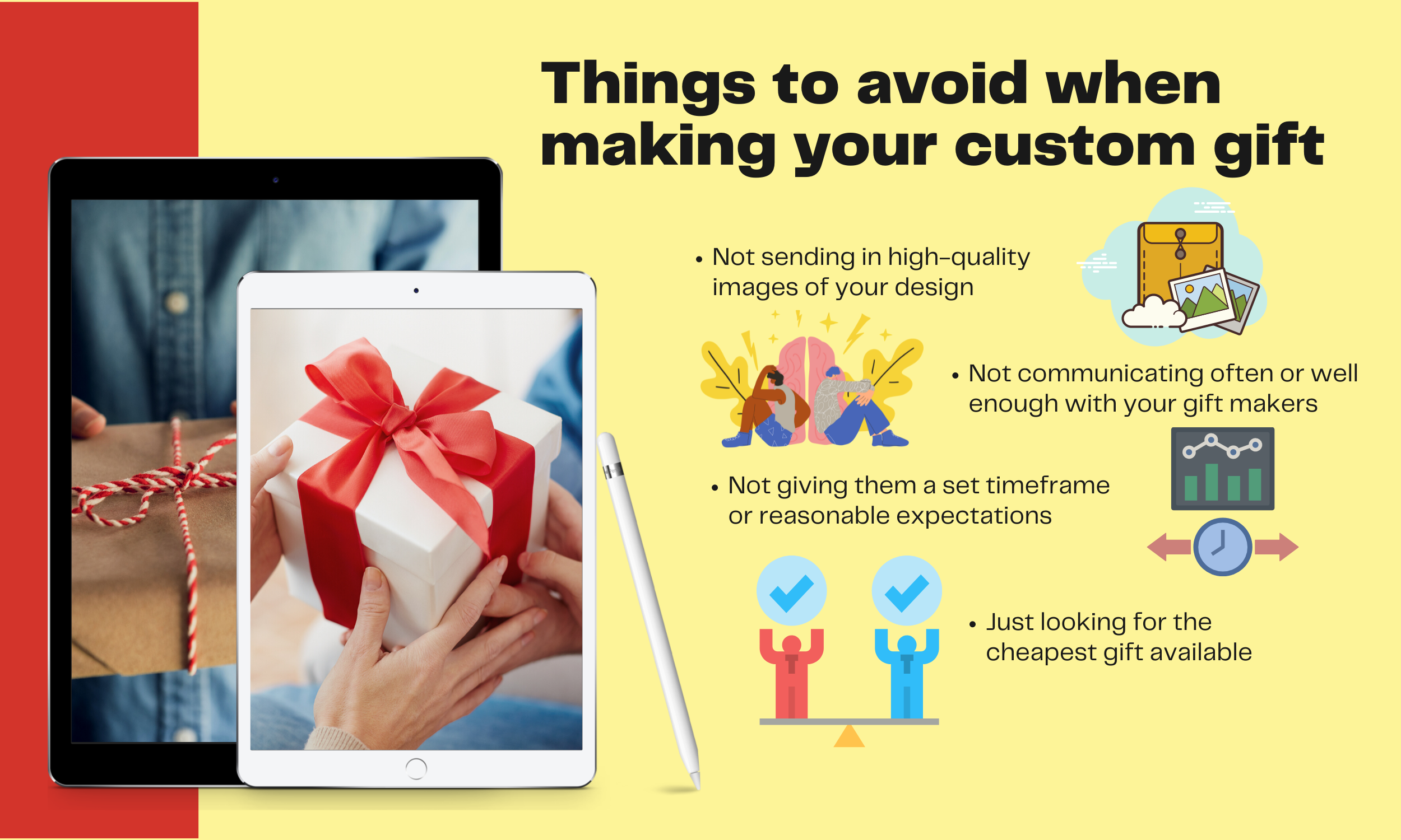 Things-to-avoid-when-making-your-custom-gift