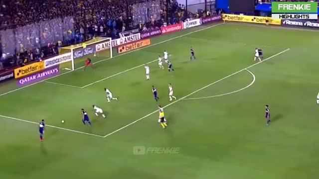 11-03-2020 - Boca Juniors 3-0 Independiente Medellin