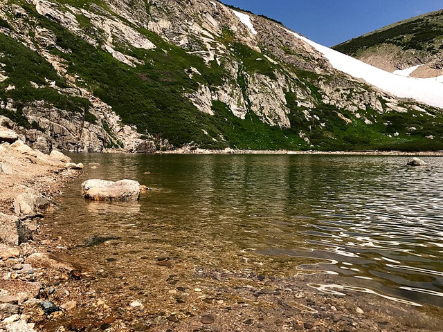 Mary's Glacier, Glacier Lake