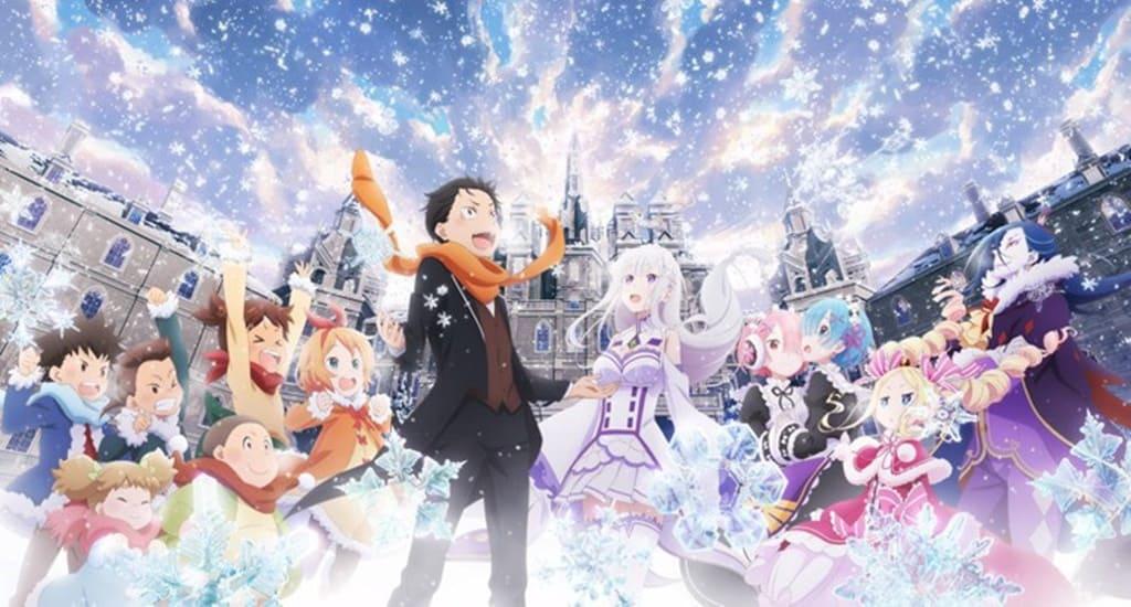 Portada: Re:Zero kara Hajimeru Isekai Seikatsu - Memory Snow