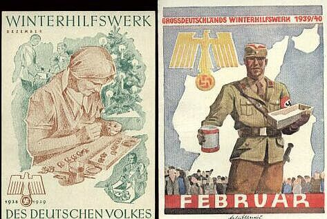 "WHW ""Winterhilfswerk des Deutschen Volkes"" / Winter Relief of the German People"