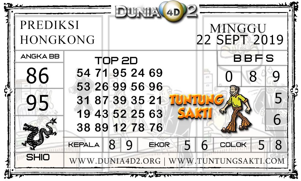 "Prediksi Togel ""HONGKONG"" DUNIA4D2 22 SEPTEMBER 2019"