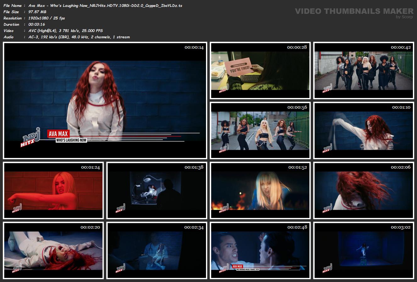 Ava Max - Who's Laughing Now   (NRJHITSHD-1080i-DD2.0-IboYLDz)-HDMania   ShareMania.US