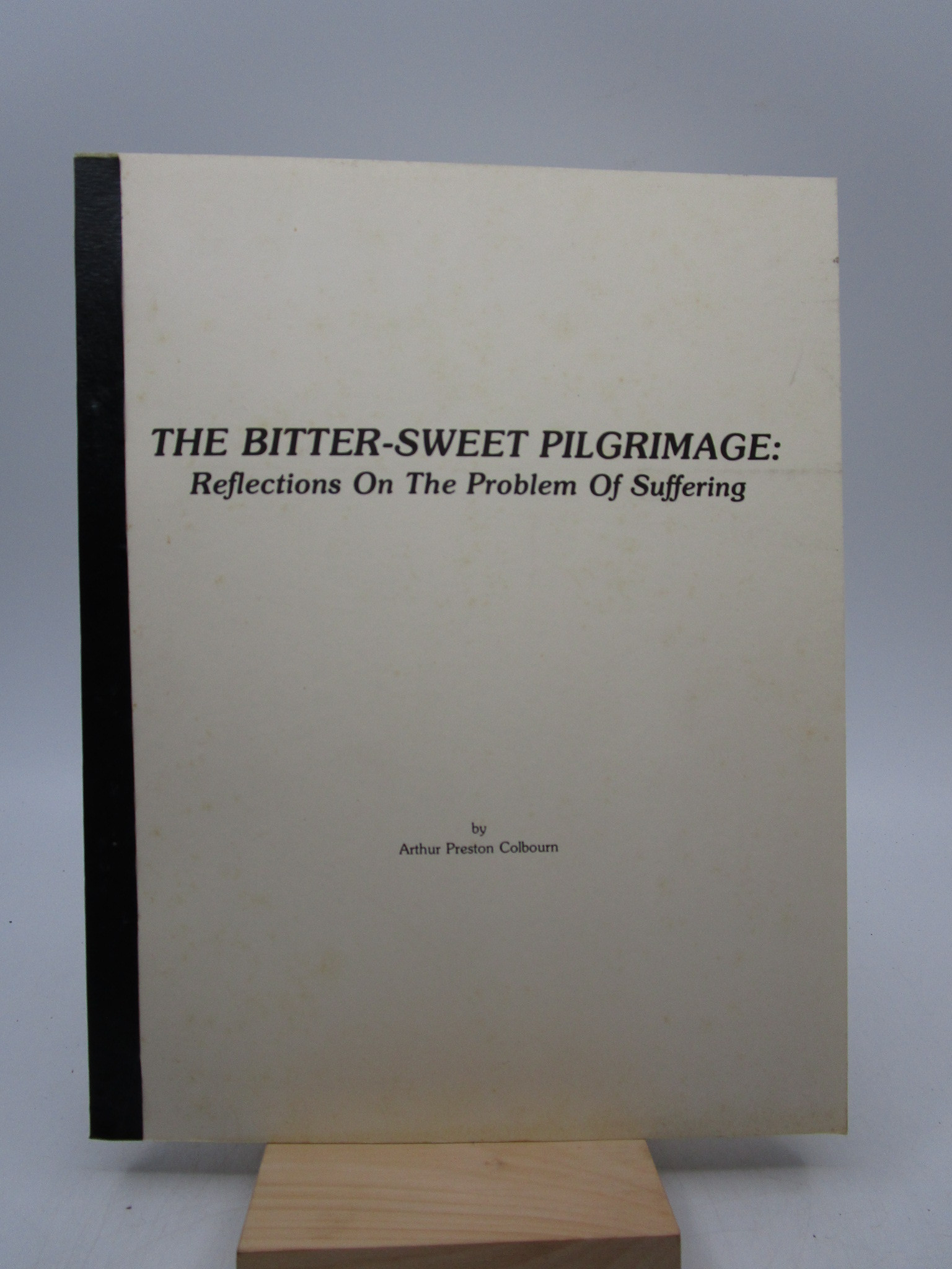 Image for The Bitter-Sweet Pilgrimage: Reflections on the Problem of Suffering