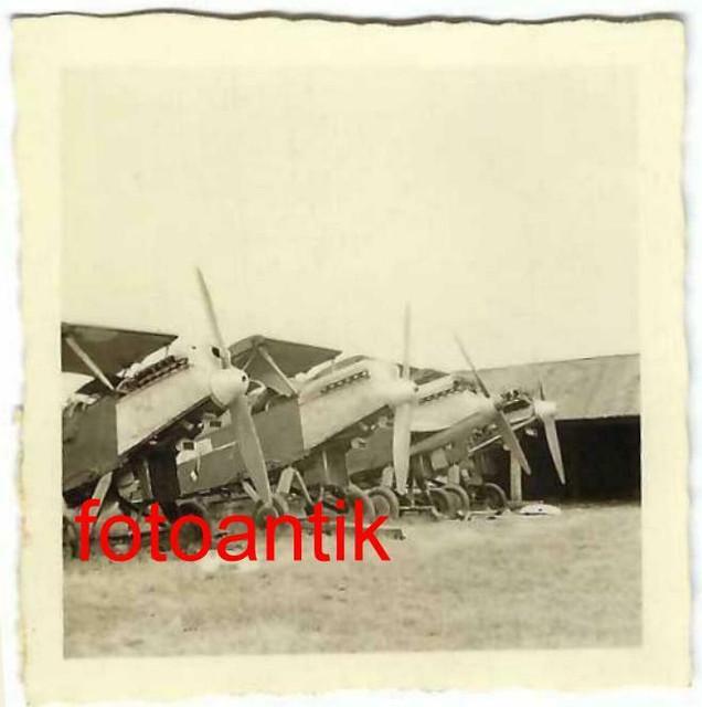 Foto-2-WK-Ostfront-Flugzeug-russische-J-ger