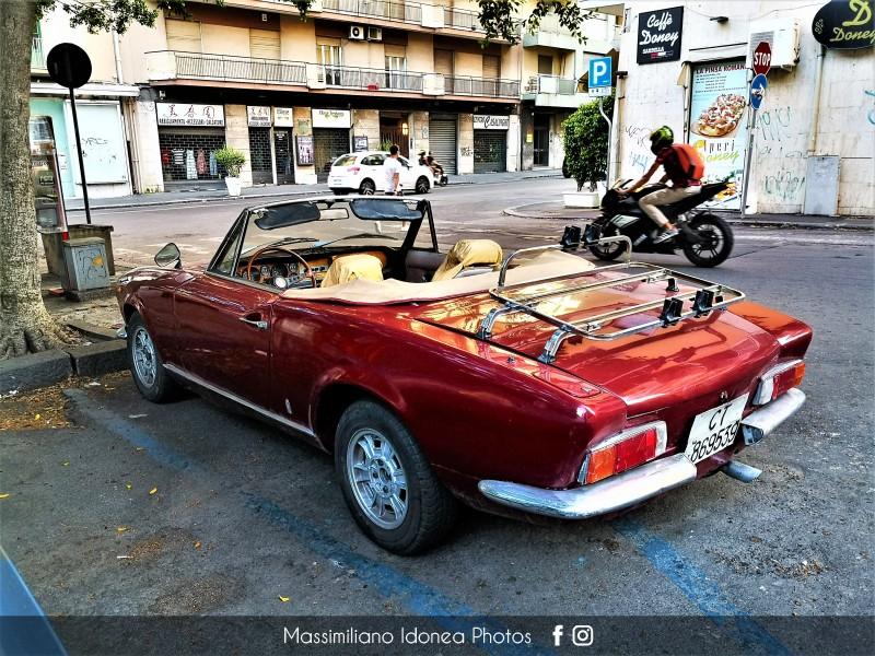 avvistamenti auto storiche - Pagina 33 Fiat-124-Sport-Spider-1-6-110cv-75-CT869539