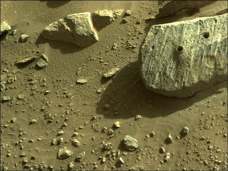 Muestras marcianas revelan un entorno sostenido potencialmente habitable