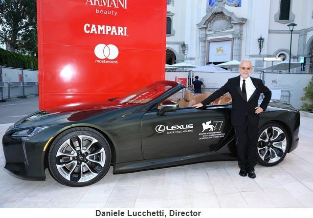 Lexus, voiture Officielle du 77e Festival International du Film de Venise Danielelucchettidirector