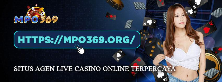 Agen live casino online indonesia