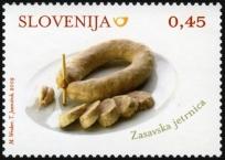 Slovenia stamps GASTRO-2009-1