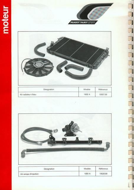 Catalogue PTS pièces compétition - 205 GTI 1600-1900 gr. N/A PTS-Moteur-5