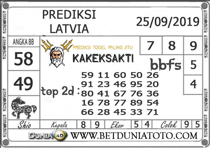 """Prediksi Togel """"LATVIA"""" DUNIA4D 25 SEPTEMBER 2019"""
