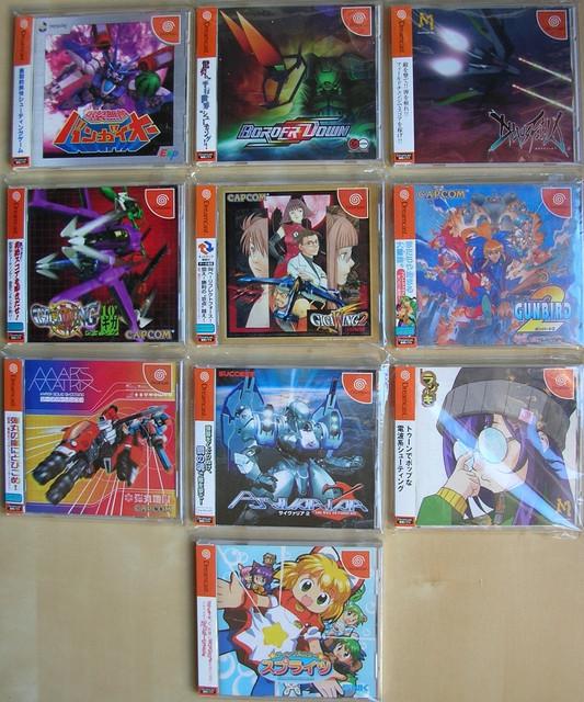 Dreamcast-Shmups