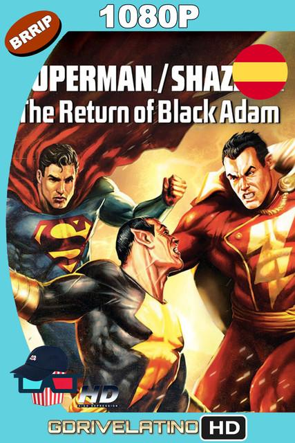 Superman/¡Shazam!: El regreso de Black Adam (2010) BRRip 1080p Castellano-Inglés MKV