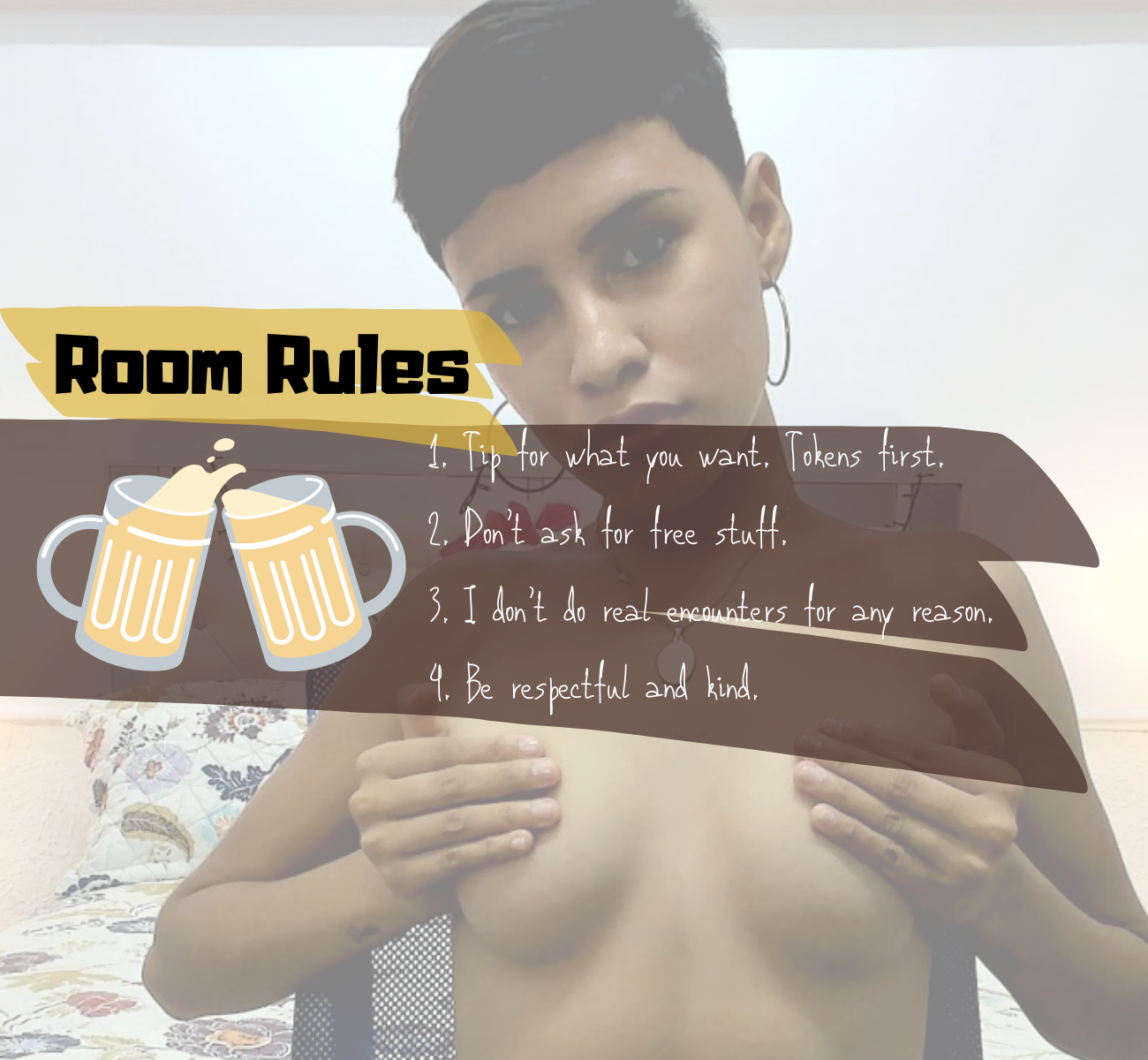 Selene-Monroe Room Rules custom pic 1