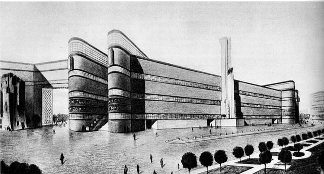 2-Concorso-Palazzo-del-Littorio-Roma-1934